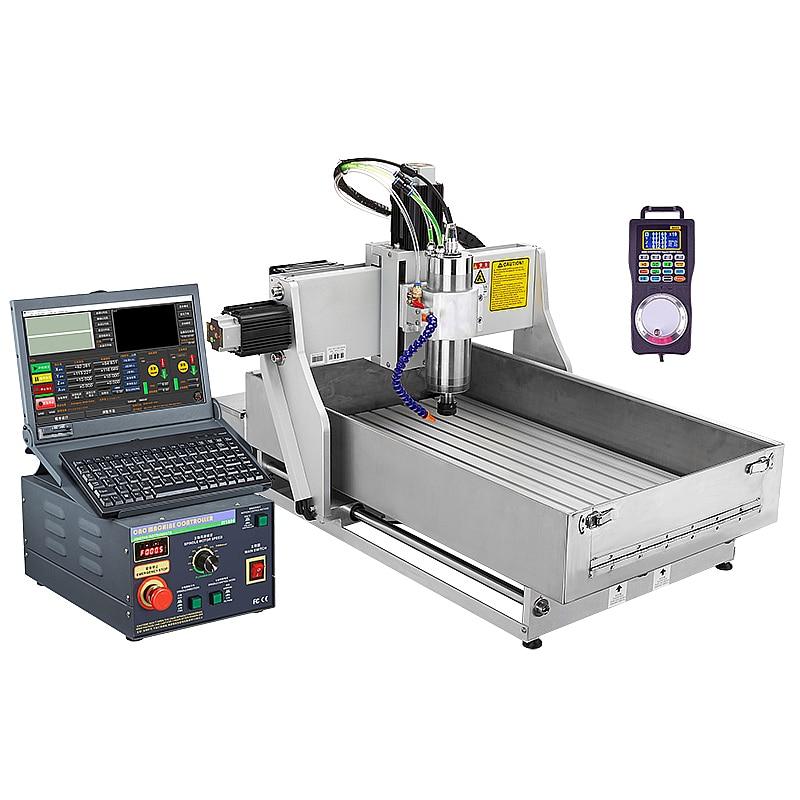 4 محاور جهاز توجيه رقمي باستخدام الحاسوب 1.5KW آلة نقش المعادن الصناعية 4030 آلة طحن