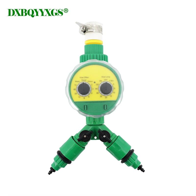 Tipo de mando de riego por goteo temporizador de control de agua, herramienta de pulverización, sistema electrónico automático de riego de jardín de casa