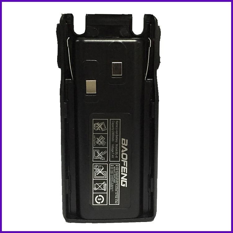 Melhor! Walkie-talkie portátil preto, 7.4v 2800mah, íon-lítio, rádio uv 82, acessórios para uv82 Baofenguv-82