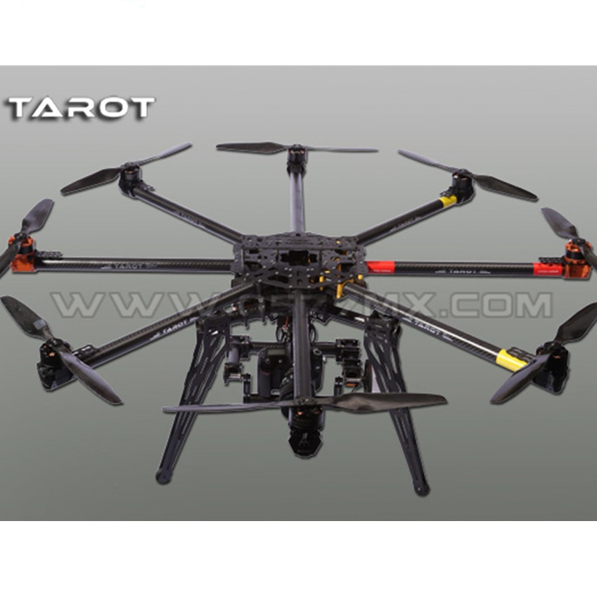 Tarô homem de ferro 1000 octocopter 3k pur conjunto kit quadro fibra carbono tl100b01