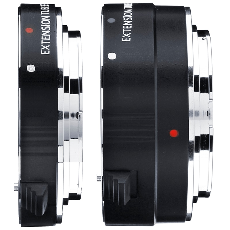 EF12 EF25 металлическое Крепление Автофокус AF макро Удлинительное Кольцо для объектива Canon 80D 70D 60D 77D 800D 760D Kiss X9i 9000D X80 8000D