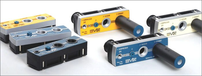 VTM50-1412A de generadores de vacío de varias etapas de Corea (tubo de 3 párrafo de raphape) 647L/min
