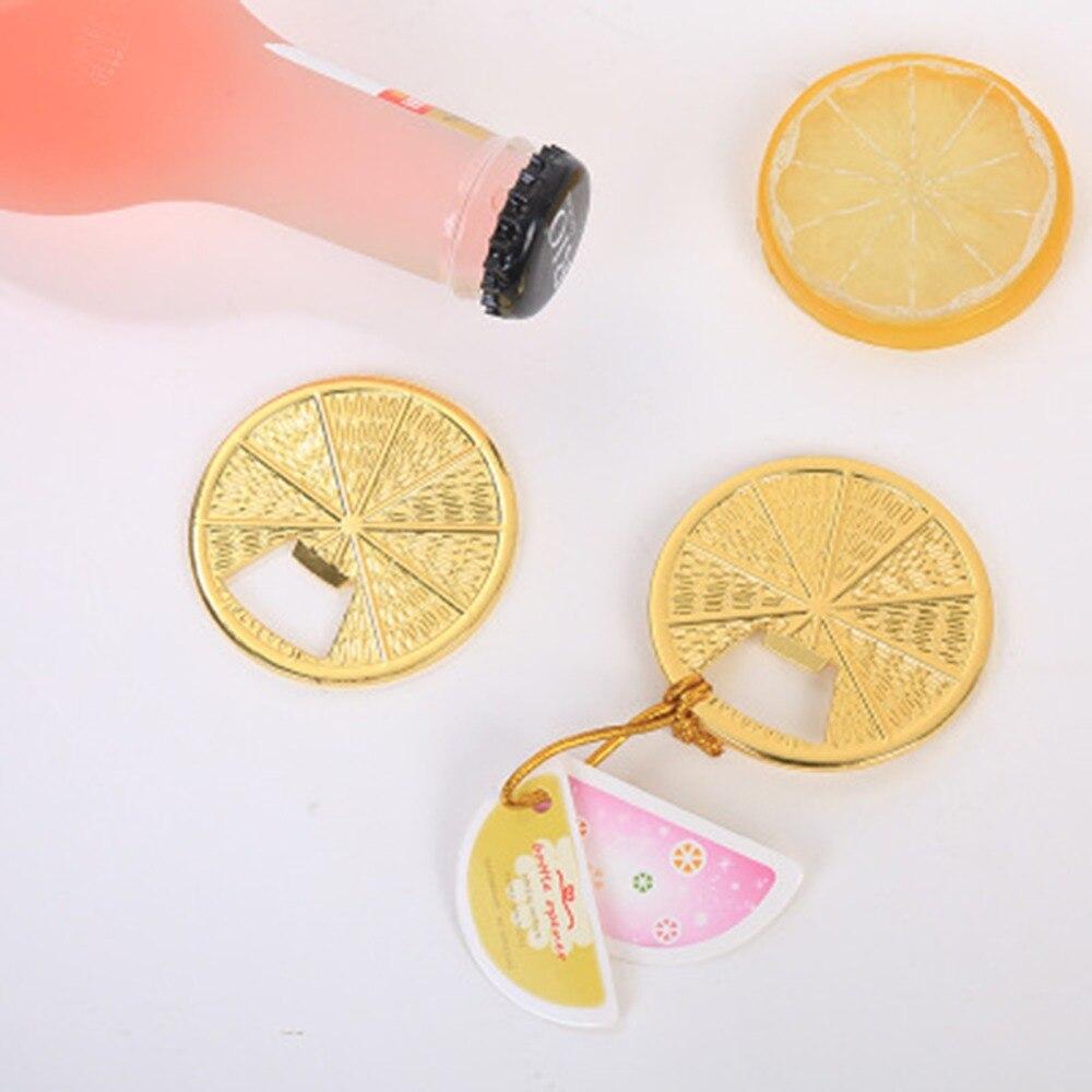 Envío Gratis, lote de 25 uds. De regalos de boda, fiesta nupcial, abrebotellas de limones dorados, fiesta de bienvenida al bebé para invitados, regalo y favores