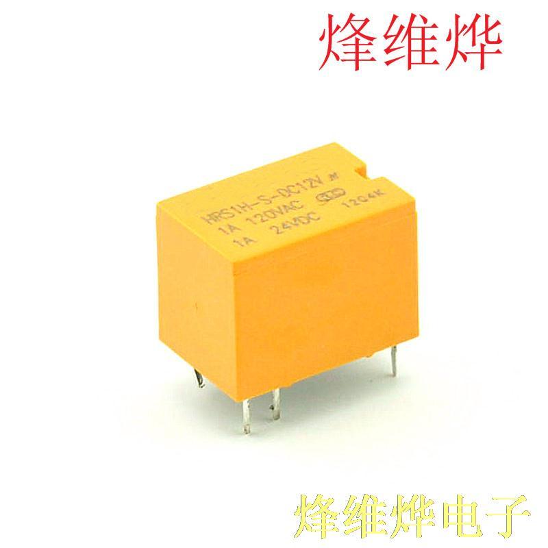 4100 relé de señal pequeña de seis pies HRS1H-S-DC12V (10 ratas)