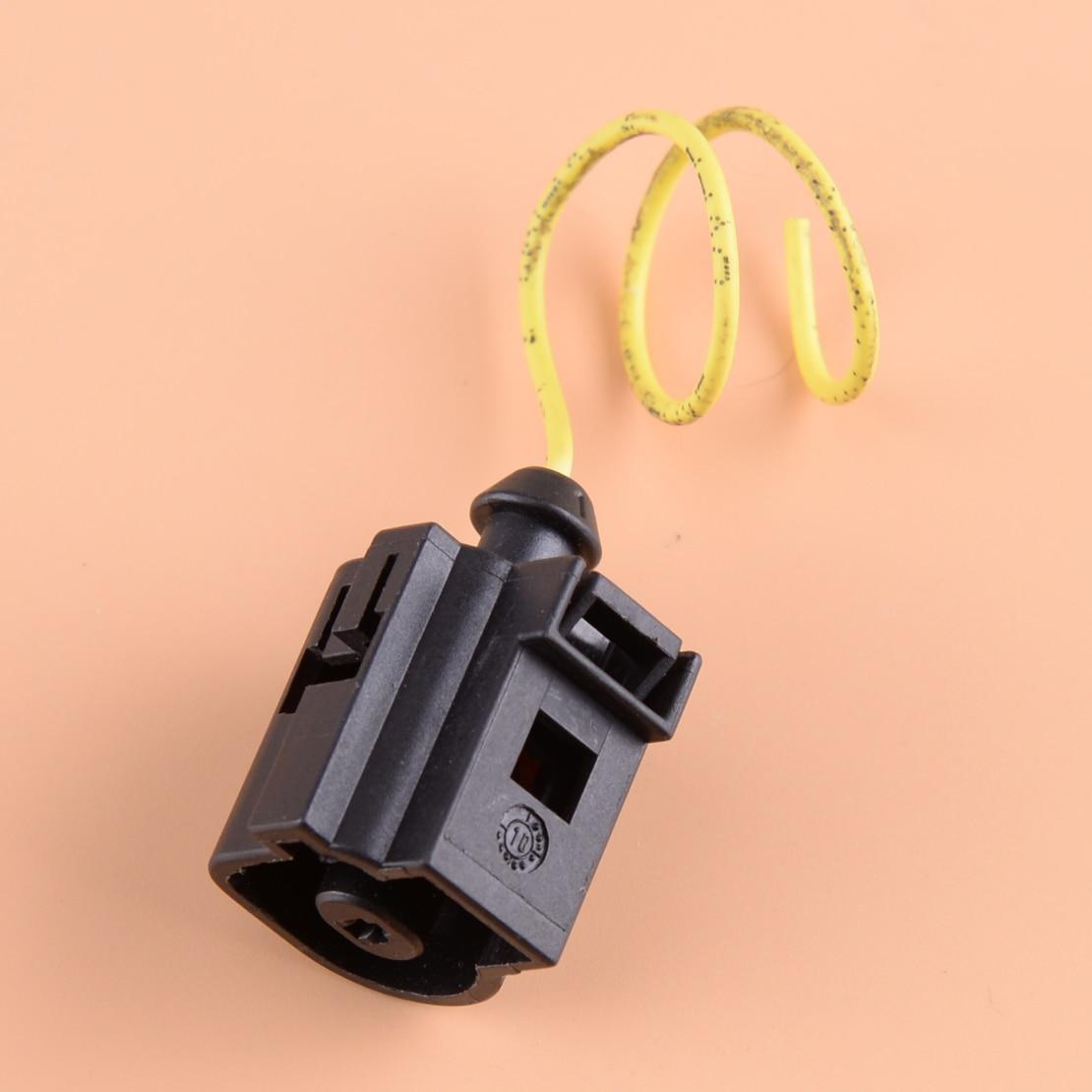 Conector automático cigall de 1 clavija Sensor de presión de aceite enchufe adaptador de arnés de cableado apto para VW Golf Jetta 1J0973081
