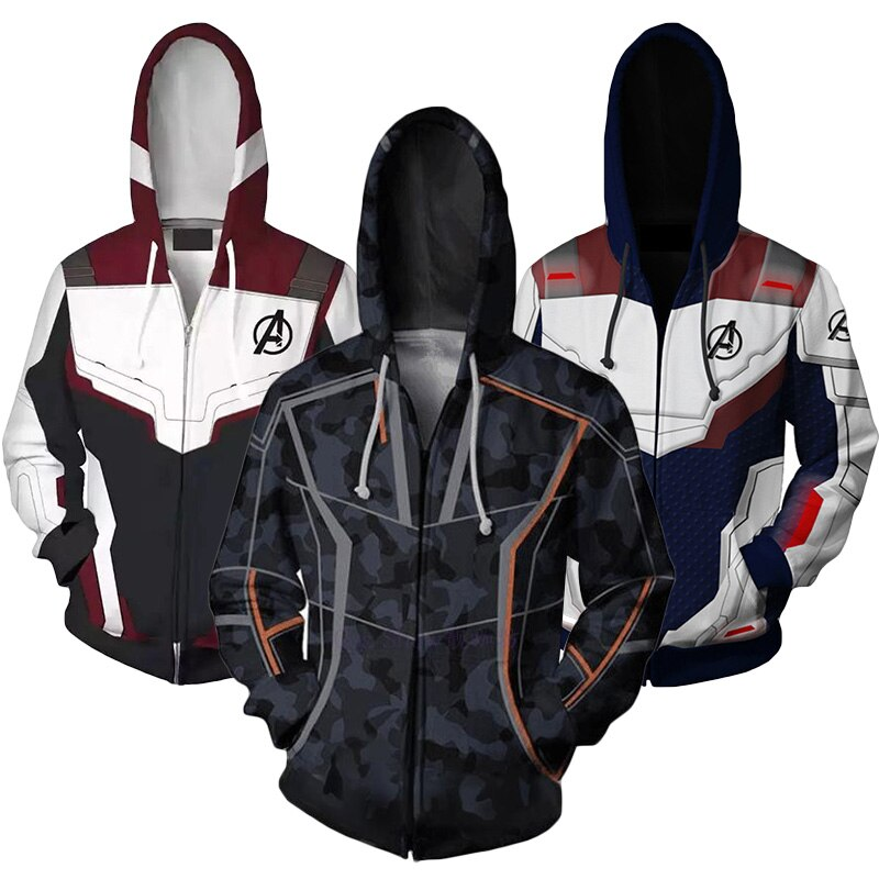 The Avengers 3 Iron Man Boys Sweatshirt Spring Quantum Warfare Hoodies Coats For Boy Cosplay Kids Clothes Children Clothing
