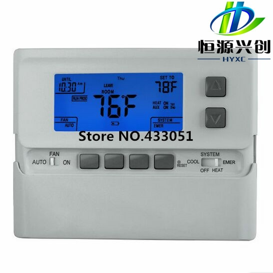 Controlador de temperatura, compresor bicicleta bomba de calor termostato de pared digital no programable