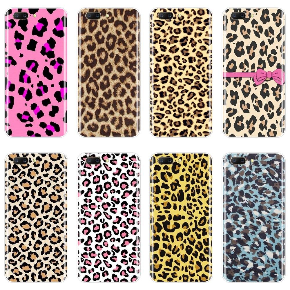 Chica estética, carcasa trasera de leopardo de lujo para OnePlus 3 3T 5 5T 6T, funda de silicona suave para One Plus 3T 5 5T 6 6T, funda de teléfono