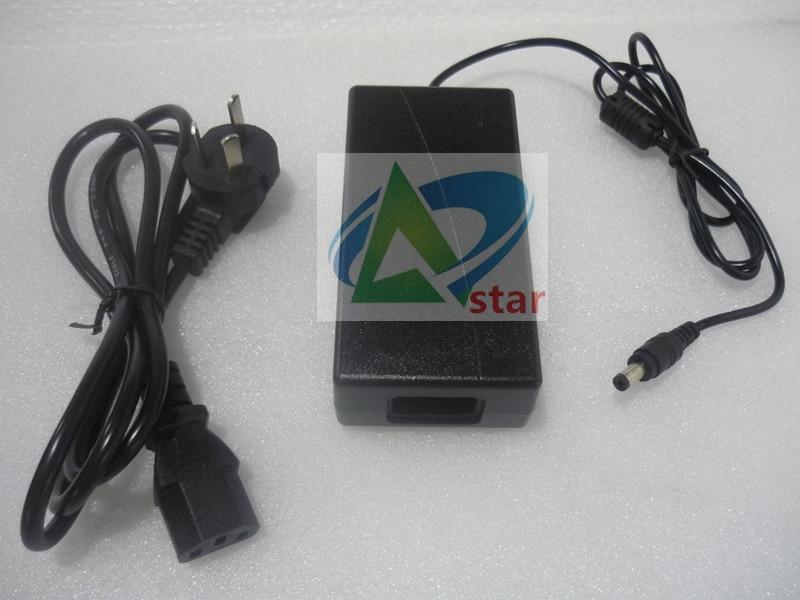 Monitor Lcd ac dc adaptador 12v 4a pantalla lcd fuente de alimentación 110 V-240 V cable de alimentación