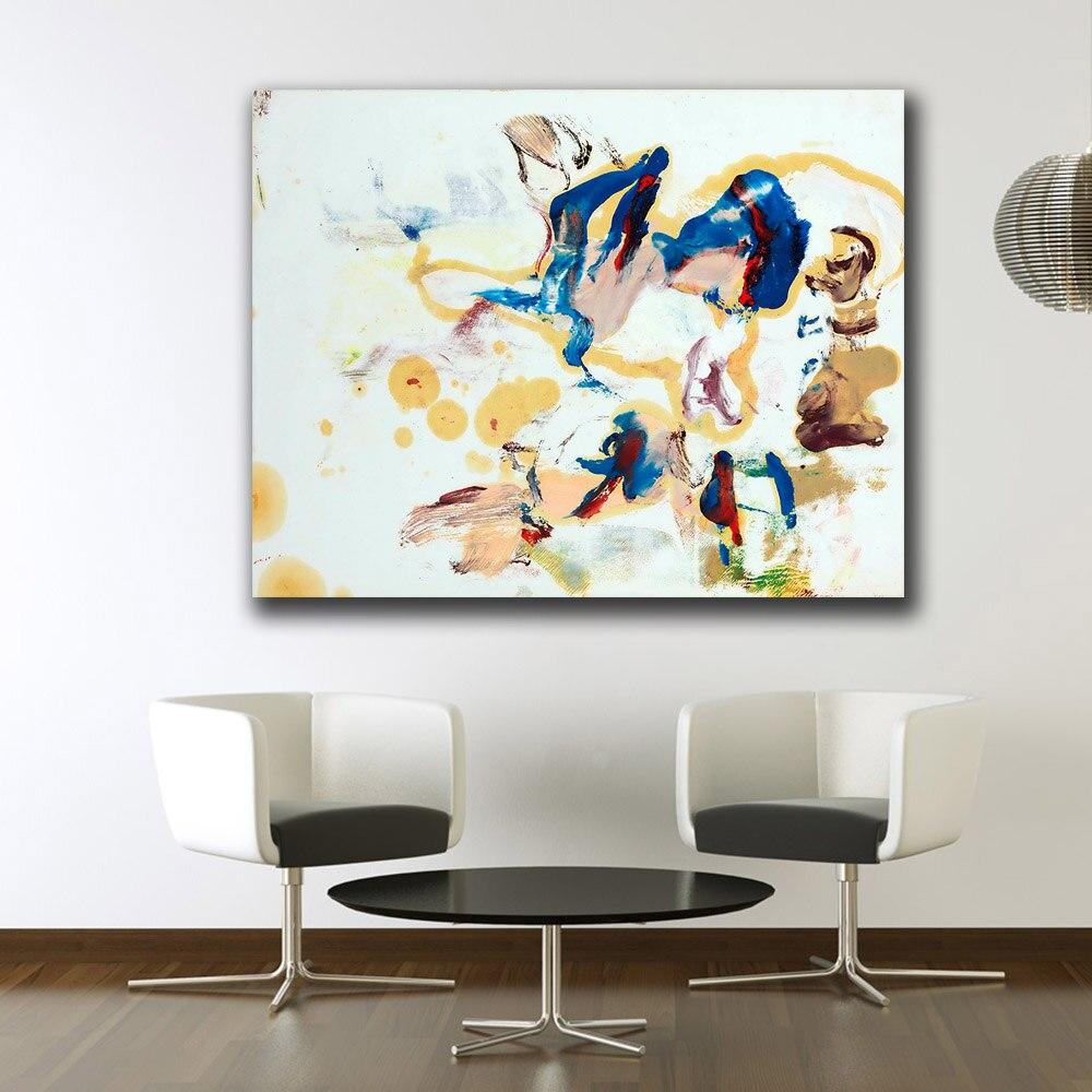 Untitled por willem-de-kooning Pintura Da Lona Para Sala de estar Decoração de Casa Pintura A Óleo Sobre Tela Pintura de Parede Unframed