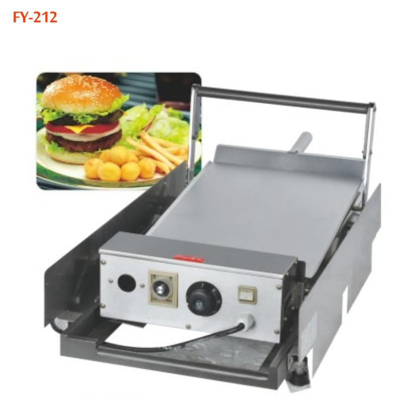 Hamburg máquina de doble capa equipo de hamburguesa horneada 110 V/220 V 1000W 1PC