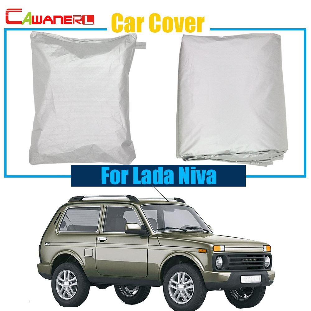 Cawanerl SUV Car Cover UV Anti Sun Rain Snow Resistant Cover Dustproof For Lada Niva Free Shipping !