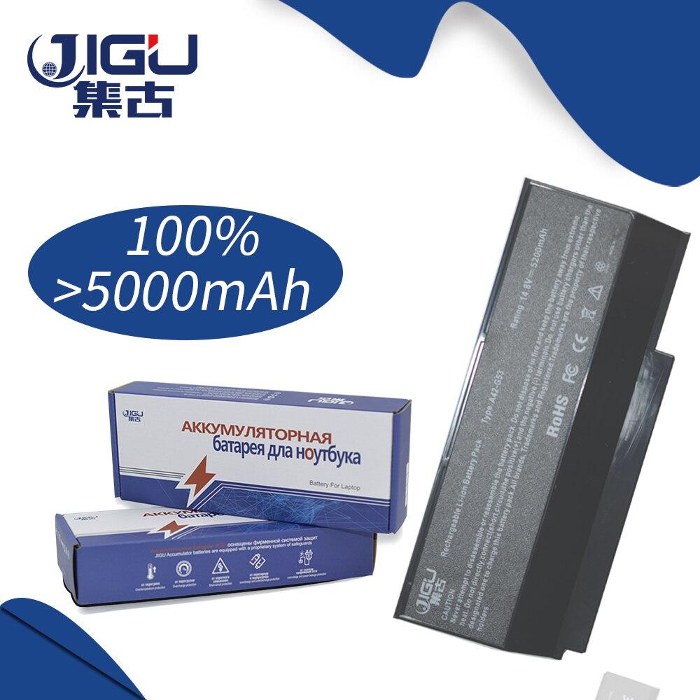 JIGU batería de portátil para ASUS A42-G73 G53 G73 serie Lamborghini VX7 serie VX7SX 70-NY81B1000Z 90-NY81B1000Y 07G016DH1875