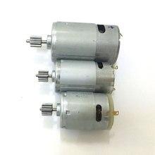 1Pc Gear DC 6V 12V RS380 390 550 Motor ToyDIY RemoteControl Car High Speed Motor  Motorcycle Electromobile engine