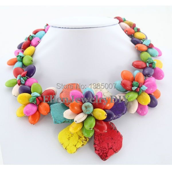 Nigerian Costume Multicolor Necklace,Party Necklace,Bridesmaid Necklace,Statement Necklace,Jewelry