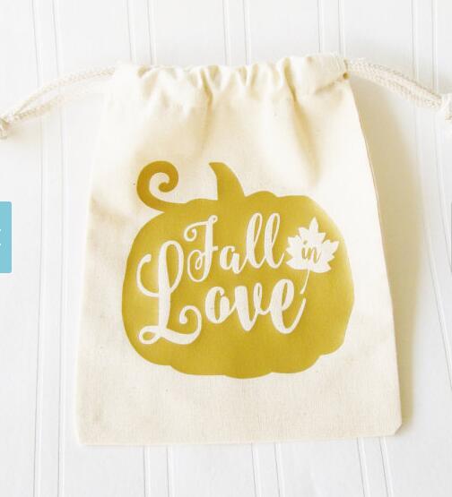 Влюблённая Тыква для девичника похмелье свадебный набор для выздоровления душа свадебный подарок муслиновые мешки для конфет