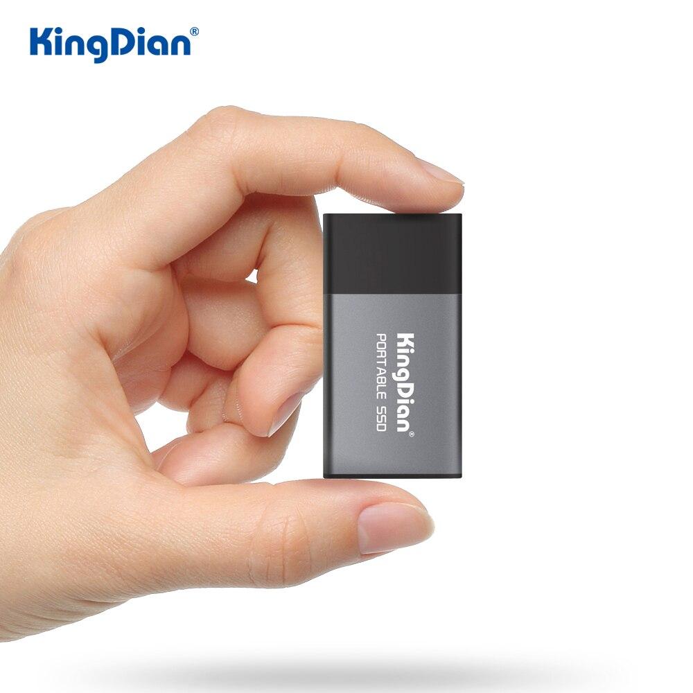 KingDian SSD externo 500gb Probable SSD 120gb 240gb USB 3,0 unidad externa de estado sólido para ordenador portátil