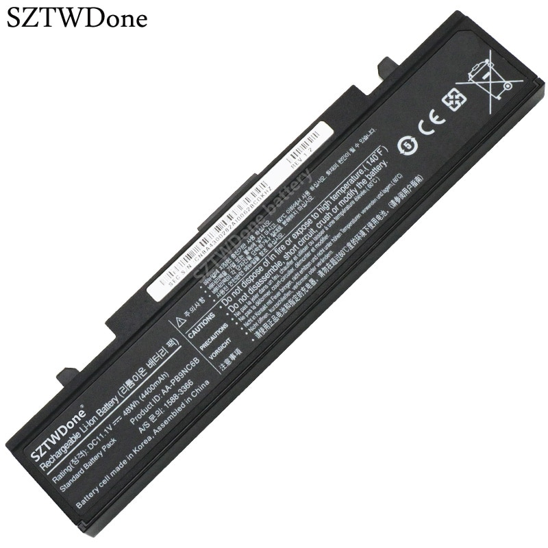 SZTWDone بطارية كمبيوتر محمول لسامسونج NP350V5C NP350U5C NP350E5C NP355V5C NP355V5X NP300E5V NP305E5A NP300V5A NP300E5A NP300E5C