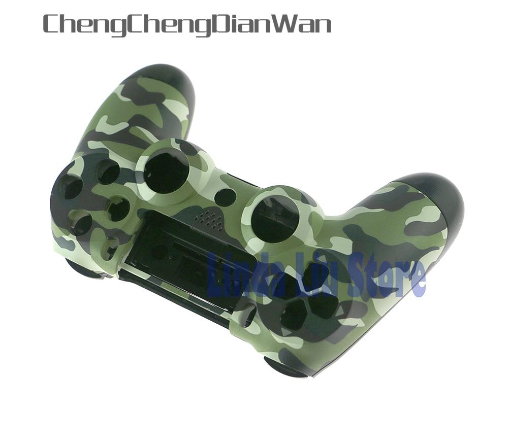 Carcasa de recambio de camuflaje ChengChengDianWan para PS4 para PlayStation 4, carcasa de camuflaje para controlador ps4