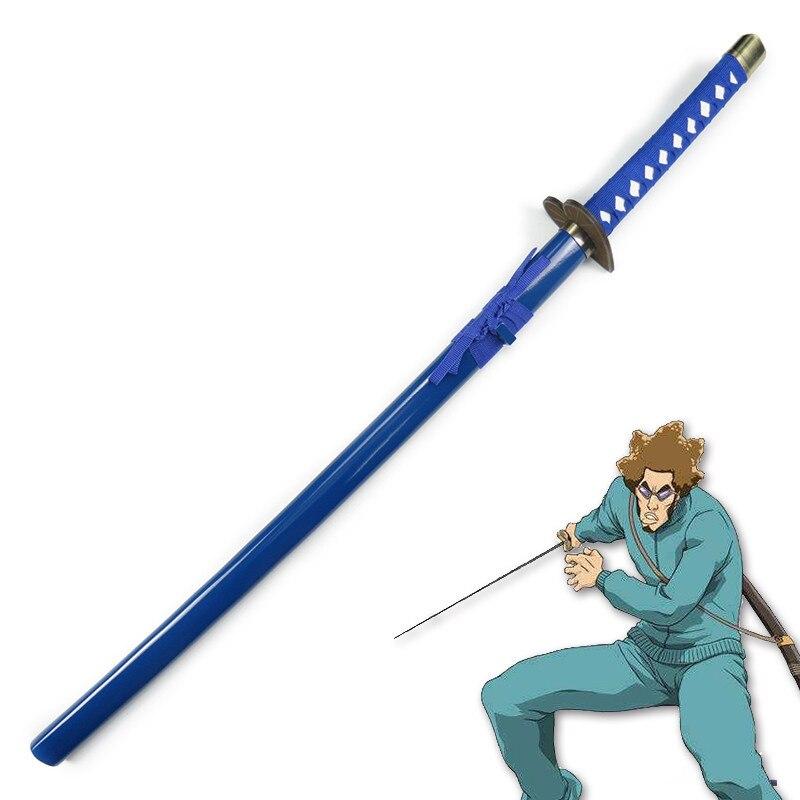 Espada de madera lejía Aikawa Robu japonés Katana Cosplay espada de madera cuchillo arma de accesorios de alta calidad decorativa