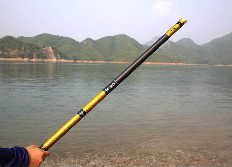 Super Hard Ultra Long Power Hand Rod 8/10/12/13/15/16m Taiwan Fishing Rod Fly Fishing Telescopic Hand Rod enlarge