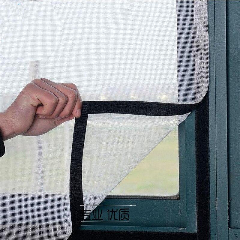20mm 10 metros adhesivo fuerte autoadhesivo pegatinas mágicas pantallas de nailon antimosquitos envío gratis