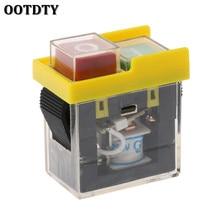 AC 250V 6A bouton-poussoir étanche   Scie, fraise, perceuse sur les commutateurs de commande, interrupteur électromagnétique KJD6 5e4