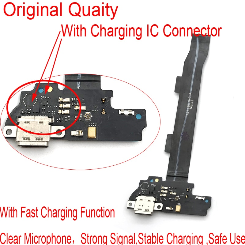 Conector de carga USB para Xiaomi Mi 5, 5S Plus, 5, 5S...