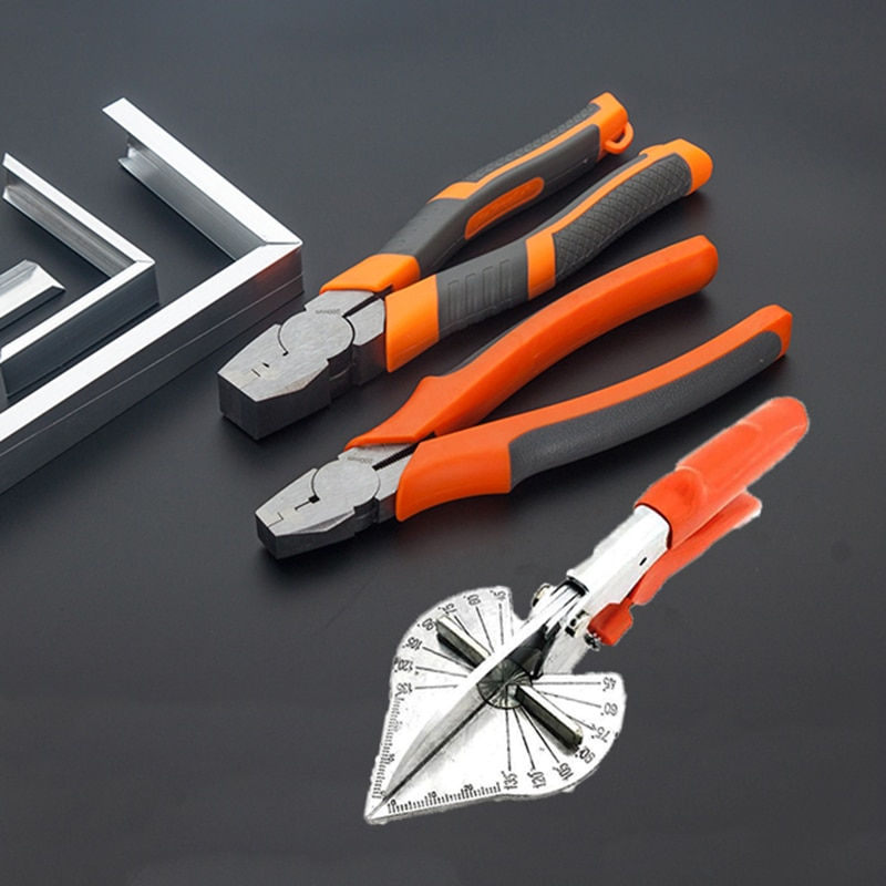 45-135 grados Multi ángulo Mitre Siding Wire Duct Cutter PVC PE plástico pipa tijeras de manguera cortar el hogar Decoración herramienta de fontanería
