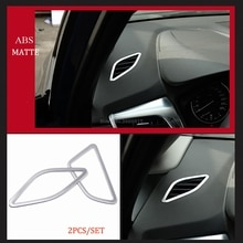 Voor Bmw 2 Serie Actieve Tourer 2018 2017 2016 2015 Innerlijke Auto Accessoires Abs Matte Air Vent Outlet Cover Trim ring (F45 F46)