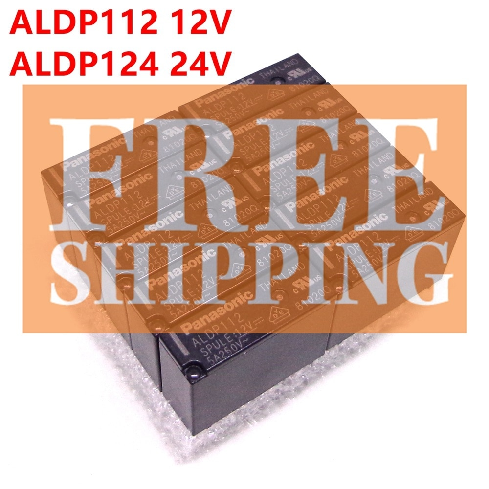 Relé 20 piezas ALDP112 ALDP124 12V 24V DC relé nuevo y original