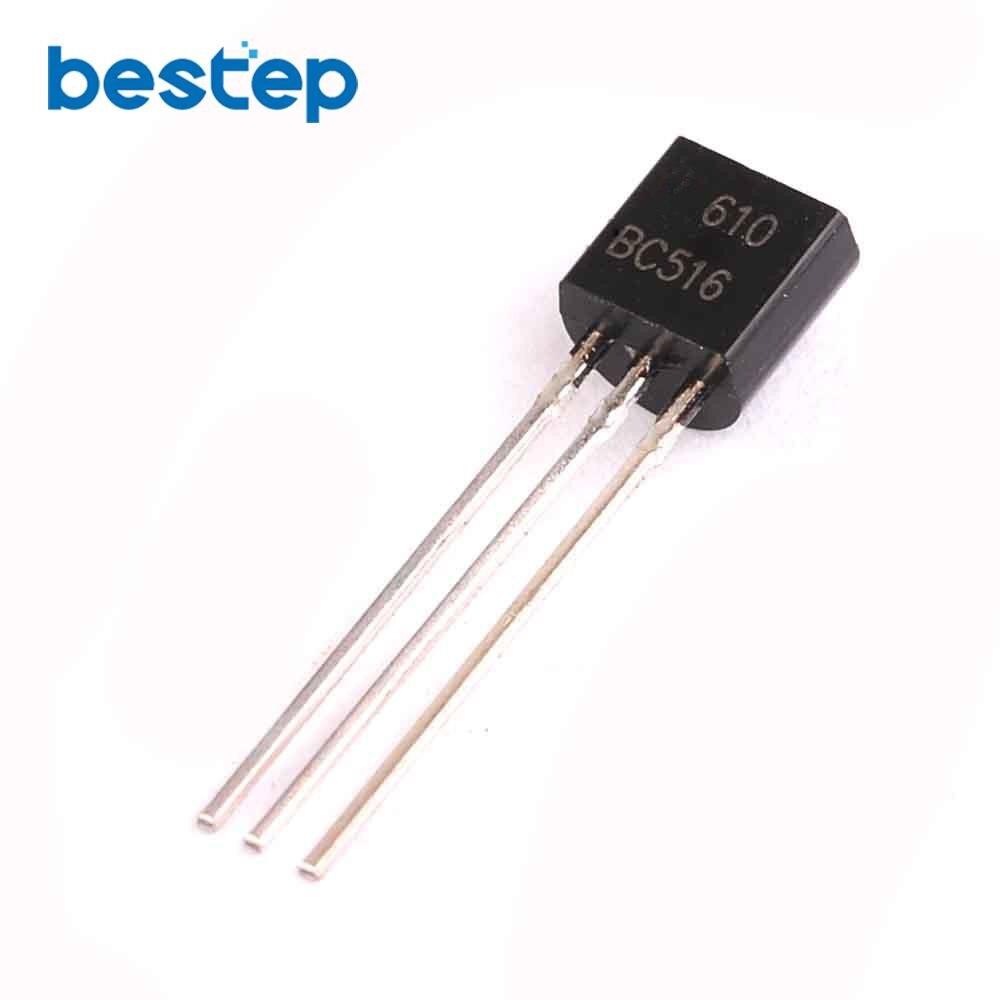 100 Uds BC516 + BC517 cada 50 Uds NPN Transistor PNP-92 de Transistor triodo