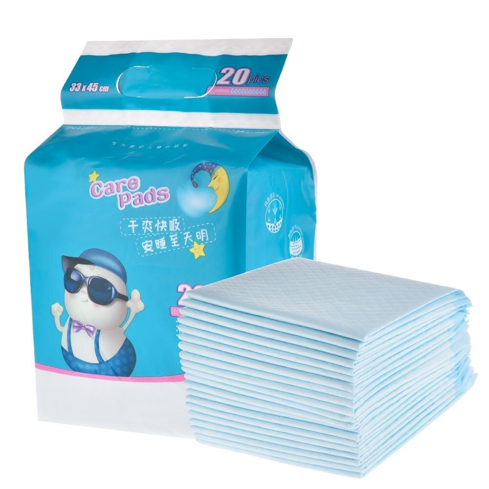 20 шт. водонепроницаемые дышащие пеленки для новорожденных diaper pad diaper waterproof