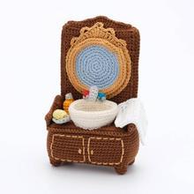 Crochet jouets amigurumi famille meubles numéro de modèle 0964