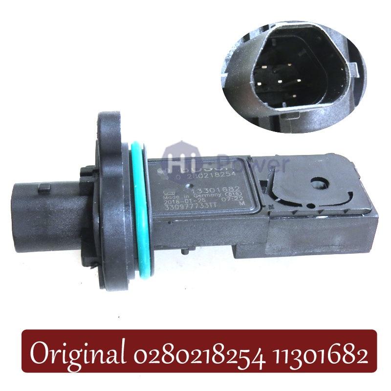 213-4686 de masa medidor, sensor de flujo de aire para Cadillac ELR Opel Astra J Corsa D Zafira Chevrolet Cruze Sonic 0280218254