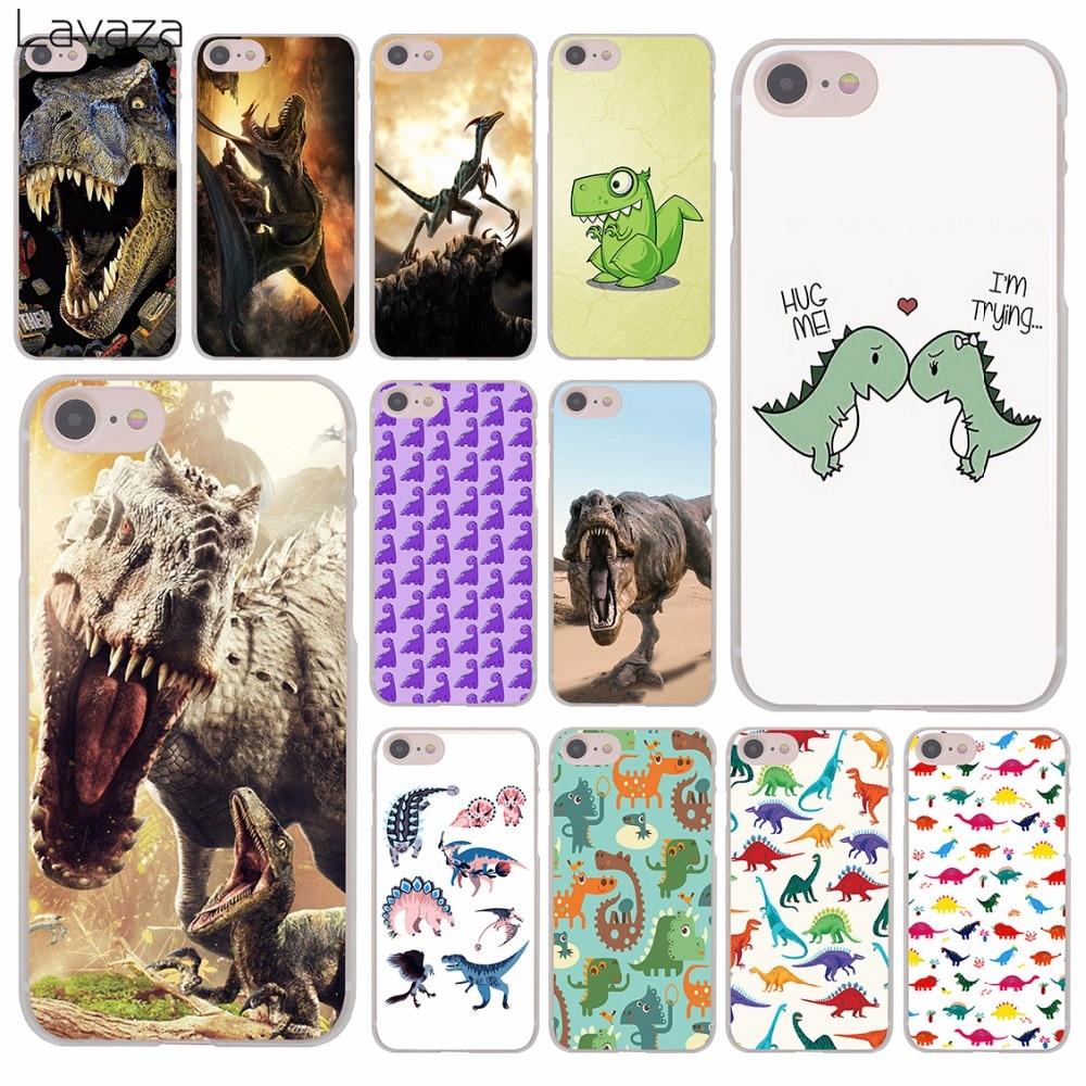 Твердый чехол для телефона Lavaza с изображением динозавра из мультфильма и открытым ртом для iPhone XR X 11 Pro XS Max 8 7 6 6S 5 5S SE 4S 4 10