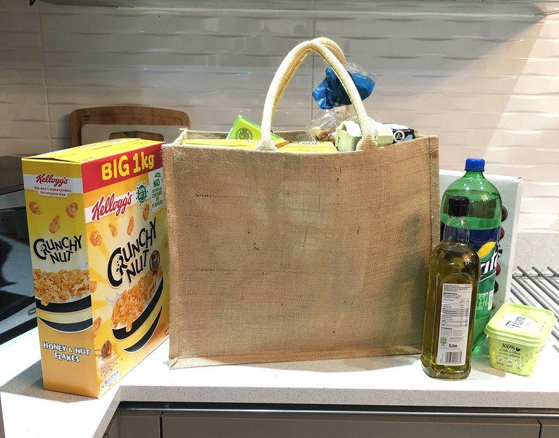 Bolso de hombro, bolsas de compra reutilizables con recubrimiento de lino, bolsos de playa Rubio, bolsos de lona, bolsas de mano para mujeres, bolsa de comestibles grande