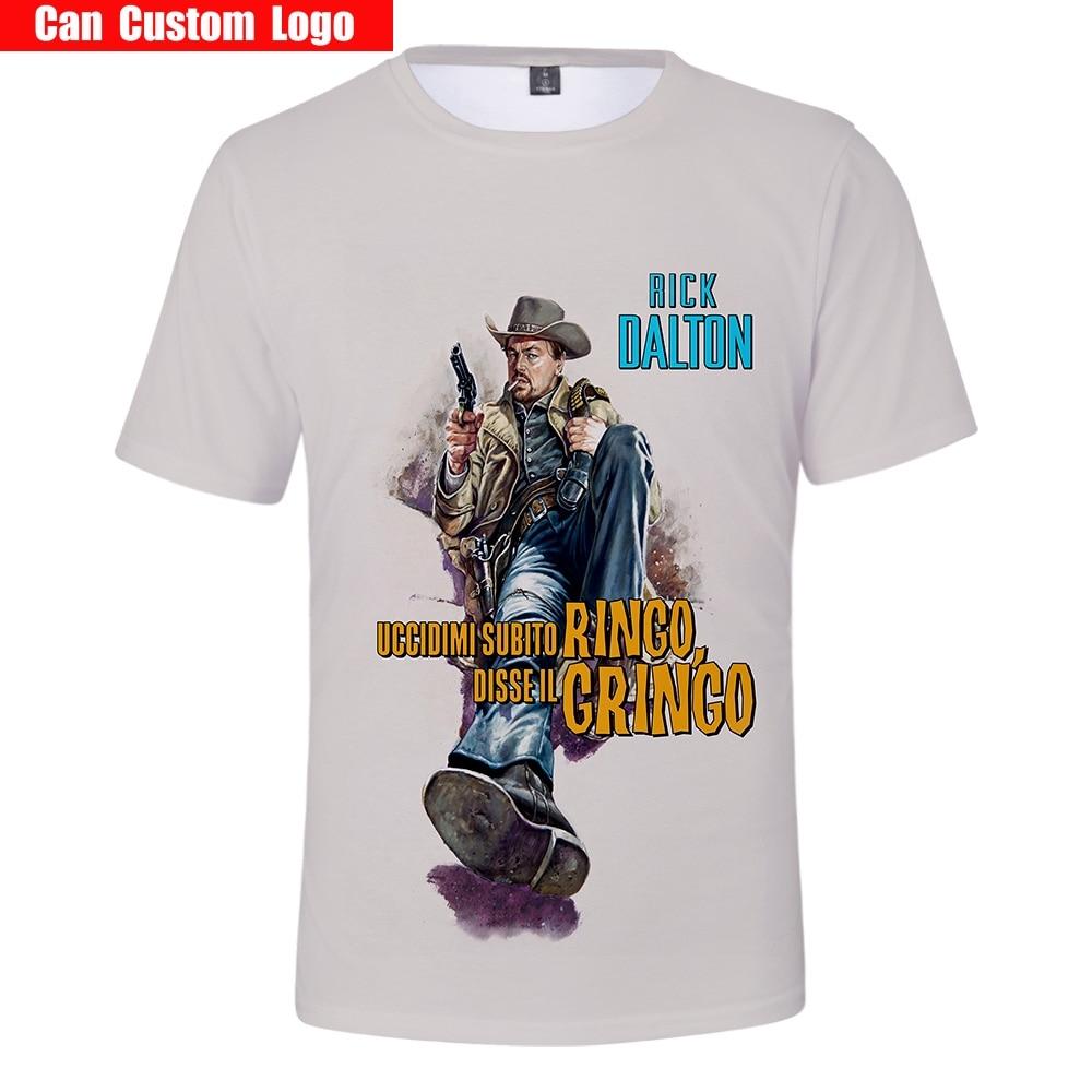Once Upon A Time в Голливуде 2019 Горячая фильм 3D thunderbolt Shazam Футболка мужская летняя футболка Harajuku 3D футболка с короткими рукавами