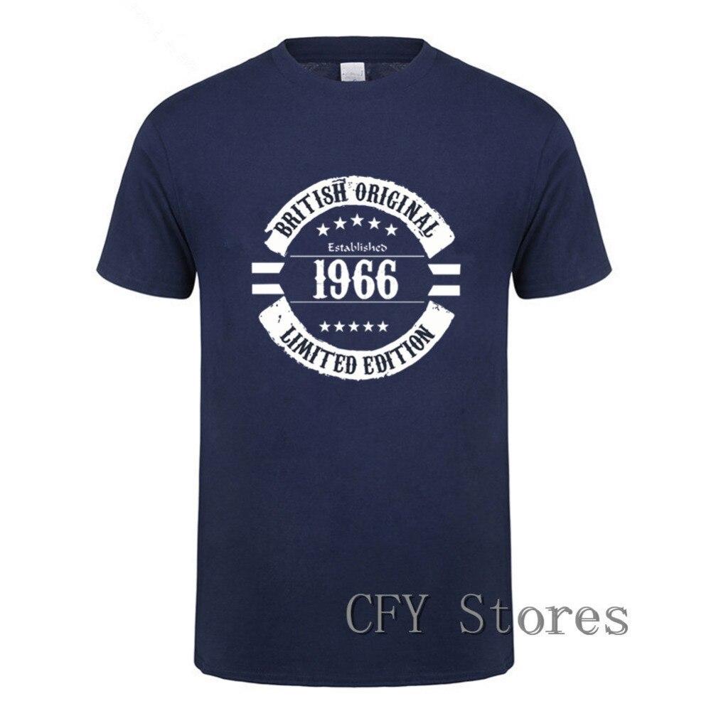 2019 nueva moda original británica 1966 camiseta Marca Ropa Hip Hop estampado hombres manga corta Camiseta alta calidad camiseta hombres