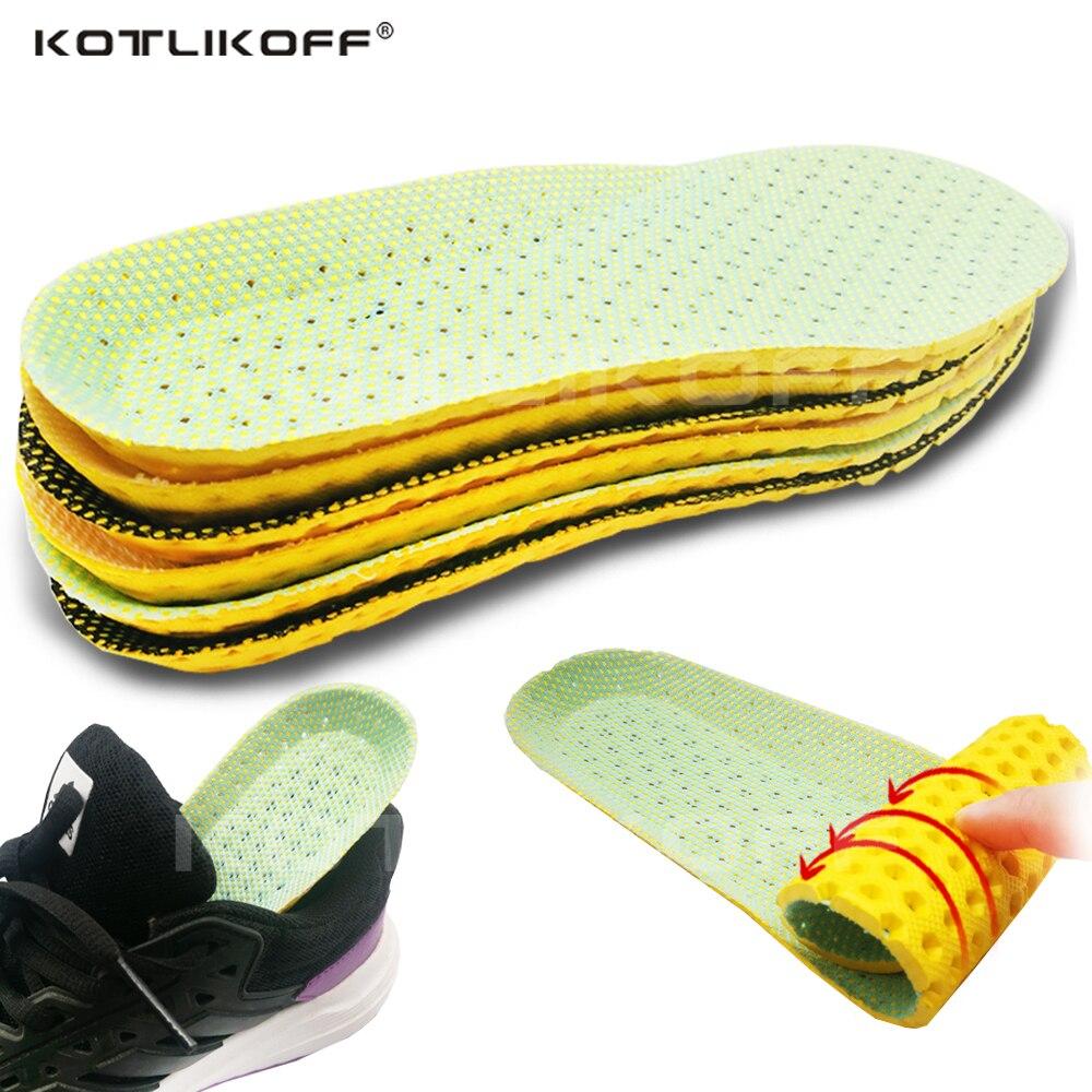 Stretch Atmungs Deodorant Laufschuhe Kissen Einlegesohlen Für Füße Mann Frauen Einlegesohlen Für Schuhe Sohle Orthopädische Pad Speicher Schaum