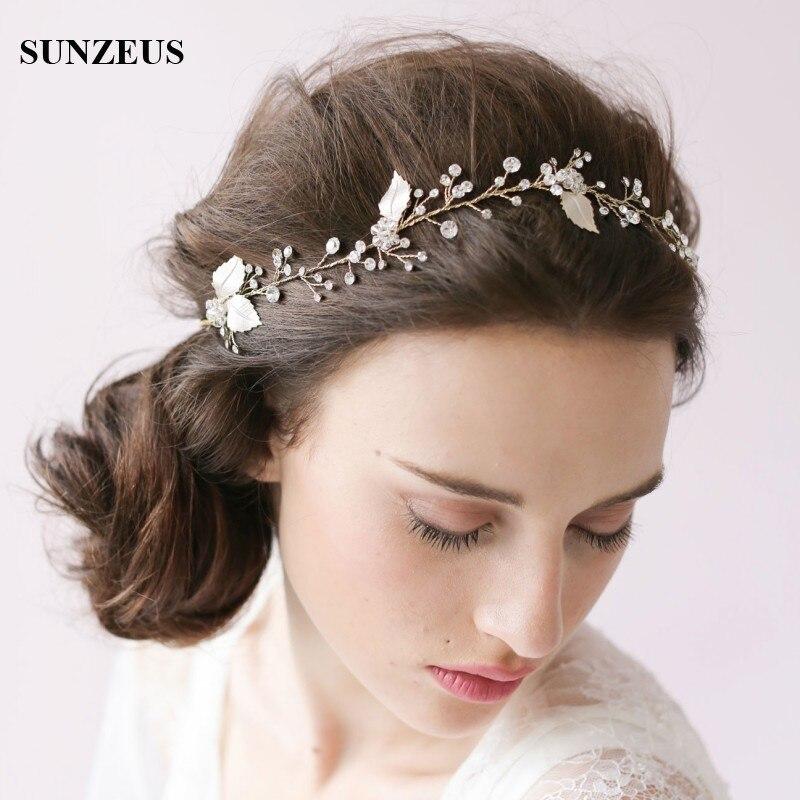 Sombrero de novia con cintas doradas, accesorios para el cabello de boda,...