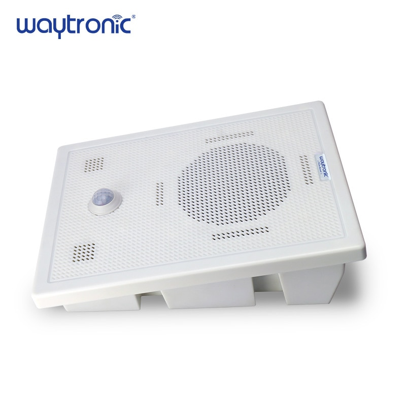 Big Power Motion Sensor Speaker with Bluetooth Wireless Voice Replacement Audio Recordable for Safety Voice Reminder Loud Sound enlarge