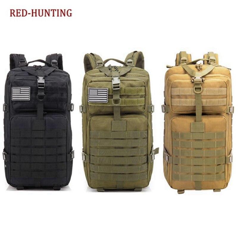 Tática Militar Mochila Molle Pequeno Exército Salish 43L 1 ou Bug o Saco de Sobrevivência do Dia 2 Mochila Pack