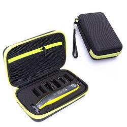 Новый жесткий чехол для Philips OneBlade MG3750 7100 аксессуары для бритья дорожная сумка из ЭВА коробка чехол на молнии с подкладкой