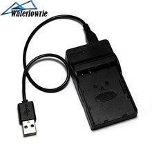 Waterlowrie NB-6L Batterie NB6L NB 6L USB Chargeur de Piles Pour Canon IXUS 105 200 210 300 310 S90 D20 D10 Caméra