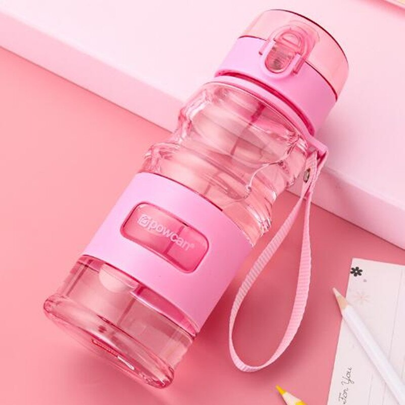 Portable plastic student sports children outdoor creative Water Bottle summer summer hand Bottle