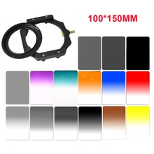 100*150mm série Z filtre carré complet ND16 gradué ND2 ND4 ND8 violet bleu Orange vert couleur filtre lentille porte-filtre caméra