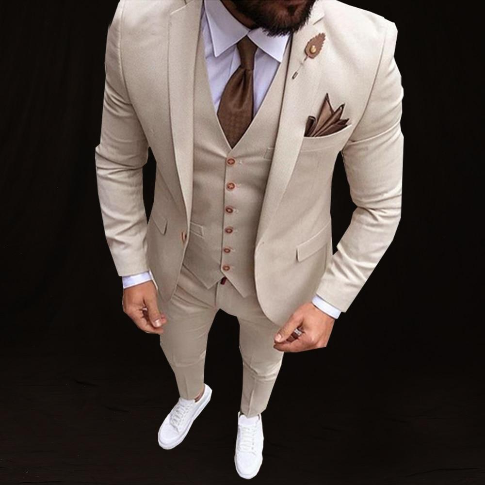Últimos diseños de pantalón y abrigo italiano de boda para hombres 2018 marfil chal negro solapa trajes para hombre, con pantalones de esmoquin