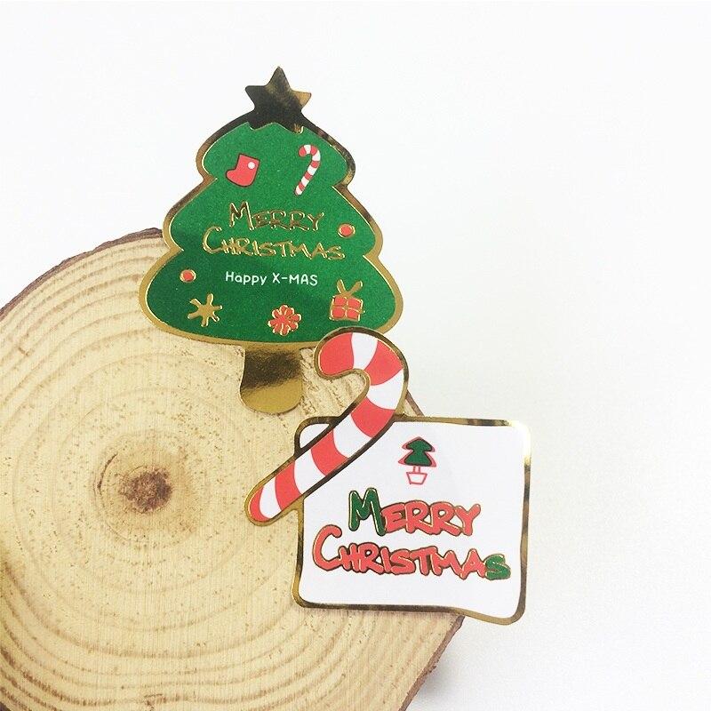 80 pçs/lote feliz natal & árvore diy pacote de biscoitos multifunções selo adesivo presente cozimento embalagem etiqueta decration scrapbook