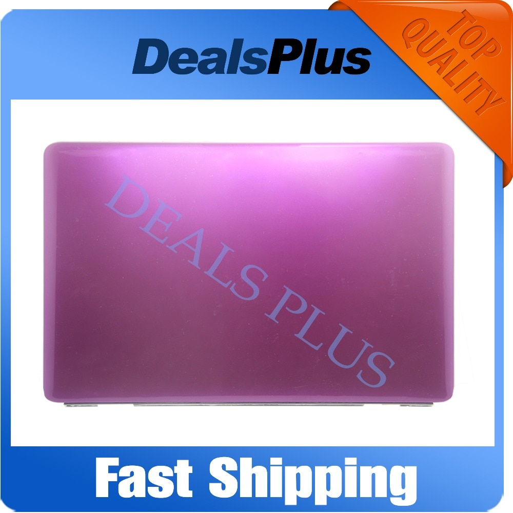 Замена Новый фиолетовый Ноутбук LCD задняя крышка чехол с петлями для Dell Inspiron 1545 4HKV5